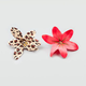 FULL TILT 2 Piece Leopard Flower Hair Clips