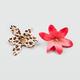 FULL TILT 2 Piece Leopard Flower Hair Clips