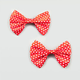 FULL TILT 2 Piece Polka Dot Bow Clips