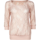 EYESHADOW Lace Womens Top