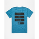 RVCA Bars Boys T-Shirt