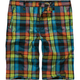 VOLCOM Graduate Plaid Boys Shorts