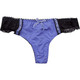 Microfiber With Lace Sides Thong