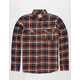 MICROS Red Rover Mens Flannel Shirt