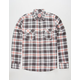 MICROS Menlo Mens Flannel Shirt