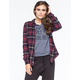 FULL TILT Womens Classic Fit Flannel Shirt