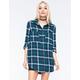 FULL TILT Tartan Womens Extreme Fit Flannel Shirt