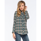 ANGIE Classic Womens Flannel Shirt