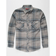 DISTORTION Tuscon Mens Flannel Shirt