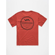 RVCA Circle Type Boys Pocket Tee