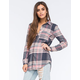 FULL TILT Multi Womens Extreme Fit Flannel Shirt