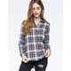 FULL TILT Pop Womens Classic Fit Flannel Shirt