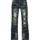 ALMOST FAMOUS Destructed Womens Jeans