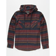 VALOR Cancun Nights Mens Hooded Flannel Shirt