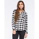 CI SONO Womens Flannel Shirt