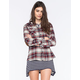 CI SONO Womens Flannel Shirt