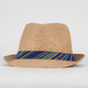 BLUE CROWN Ethnic Fedora