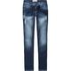 TRUE SOULMATE Heavy Stitch Womens Skinny Jeans
