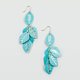 FULL TILT Patina Diamond Cut Earrings