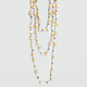FULL TILT 3 Row Beaded Necklace
