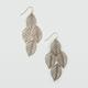 FULL TILT Leaf Dangle Earrings