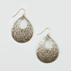 FULL TILT Cutout Teardrop Earrings