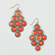 FULL TILT Stone Chandelier Earrings
