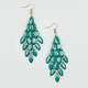 FULL TILT Facet Bead Chandelier Earrings