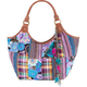 Patchwork Ethnic Tote Bag