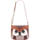 Owl Floral Flapover Bag