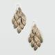 FULL TILT Leaves Chandelier Earrings