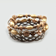 FULL TILT 4 Piece Stretch Bead and Bangle Set