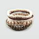 FULL TILT 7 Piece Wood Bead Bangle Set