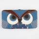 Patchwork Owl Hinged Wallet