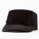 Bow Velvet Womens Military Hat