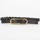 Skinny Braid Belt