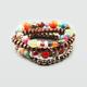FULL TILT 4 Piece Multi Bead Bracelets