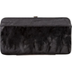 Feather Trim Hinged Wallet