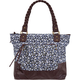 Ditsy Canvas Tote Bag
