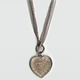 FULL TILT Heart Mesh Necklace