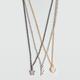 FULL TILT 3 Row Charm Necklace