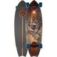 SANTA CRUZ Landshark Stained Hand LG Cruzer Skateboard