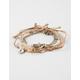 5 Piece Leaf/Boho Friendship Bracelets