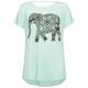 FULL TILT Elephant Bar Back Girls Tee