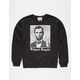 RIOT SOCIETY OG Abe Lincoln Mens Sweatshirt