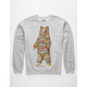 RIOT SOCIETY Ornate Bear Mens Sweatshirt
