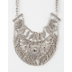 FULL TILT Tribal Etched Bib Necklace