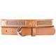 Flower Stitch Skinny Belt
