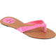 SIMPLY PETALS Patent Girls Sandals