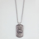 BLUE CROWN CA Bear Dogtag Necklace
